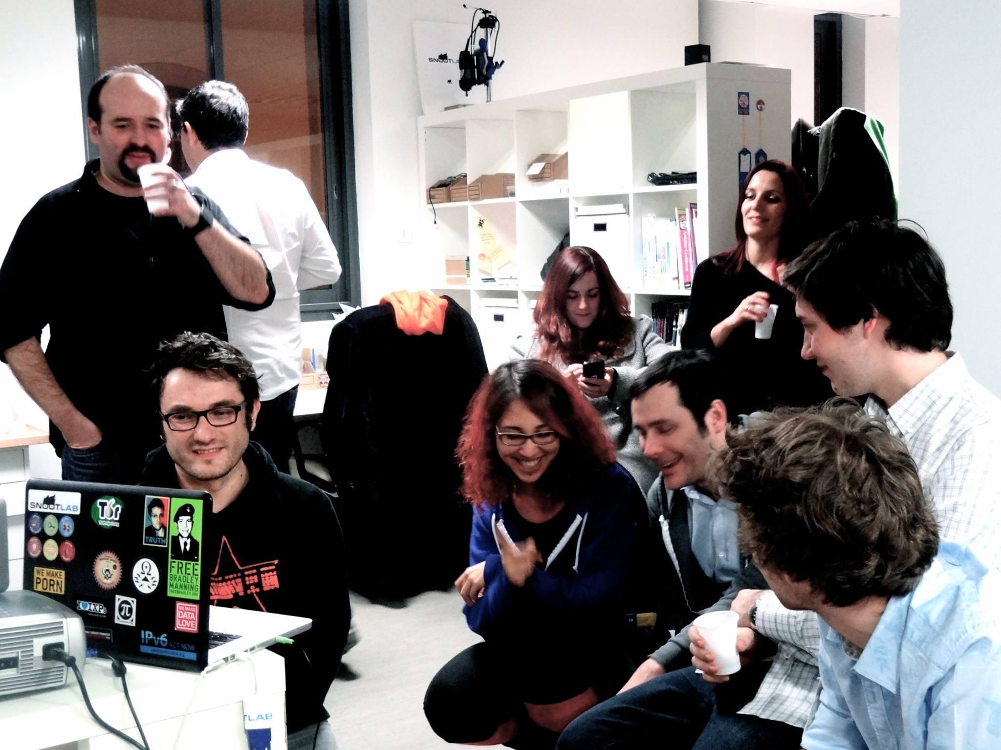 20.01.2015 : Buffet d'Anniversaire pour les 5 ans de Snootlab