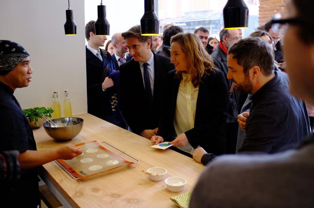13.02.2015 : Inauguration Grand Builder d'ekito (brunch, rosemary fizz, dinner & #fortuneCookie)
